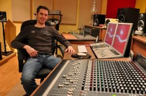 iBeat Recording Studio - Control Room
