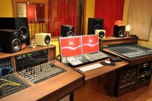 iBeat Recording Studio - Controlroom