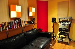 iBeat Recording Studio - Controlroom bank