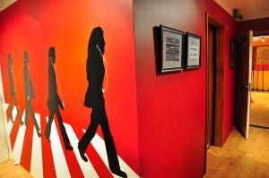 iBeat Recording Studio - Beatles muurschildering