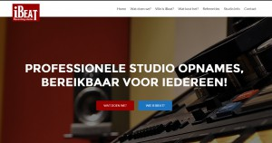 iBeat Recording Studio - Website 2015