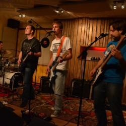 Captain Albatros bij iBeat Recording Studio tijdens live@ideaal